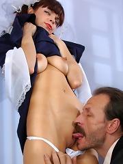 Gertie&Karl fucking younger girl